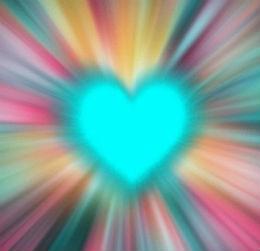 cuore luminoso